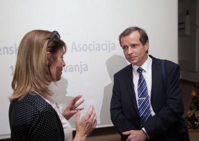 izr. prof. dr. Saša Novak in Simon Webster